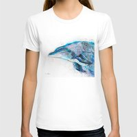 dolphin T-shirts featuring Dolphin  by Slaveika Aladjova