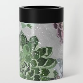 Simple succulents Can Cooler
