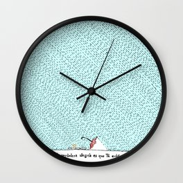 La verdadera alegría es que Tú existes Wall Clock