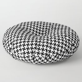 Hounds Tooth Floor Pillow