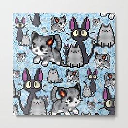 Cat and kitten Metal Print