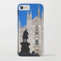 milan iPhone & iPod Cases featuring Milan by Kallian