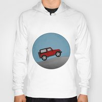 jeep Hoodies featuring Jeep Jeep by rochaStuff