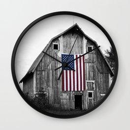 Heartland Pride #3 color pop Wall Clock