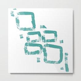 La liberte abstract creative illustration Metal Print