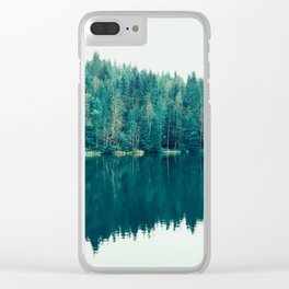Reflected Forest 2 Clear iPhone Case