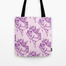 Stupid Pug Cupid Tote Bag