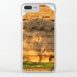 Albero sulle rovine Clear iPhone Case