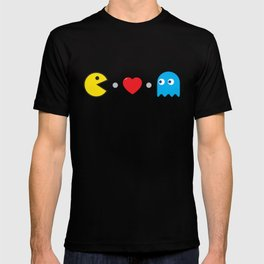 PAC-MAN HEART T-shirt
