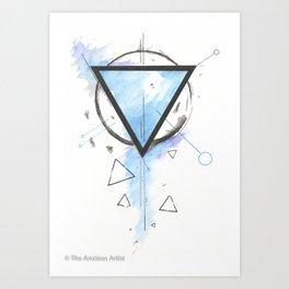 Flash Flood Art Print