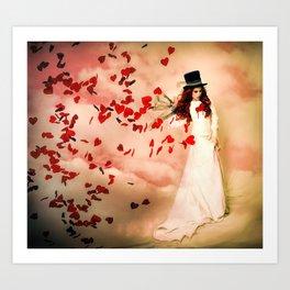 Love Bleed Art Print