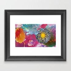 Cosmic Bleach Framed Art Print
