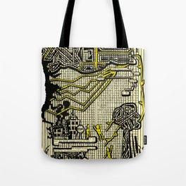 Destructive Nature Tote Bag