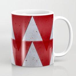 Triangles on grunge Coffee Mug