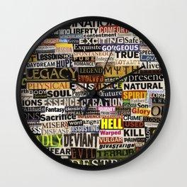 Existence Wall Clock