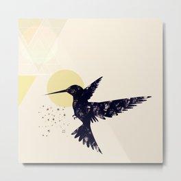 Bird X Metal Print