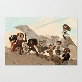 Tribute Canvas Print