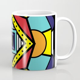 African Inspired Geometric Design Coffee Mug