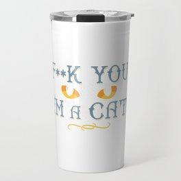 i'm cat Travel Mug