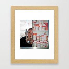 addiction: fear #2 Framed Art Print