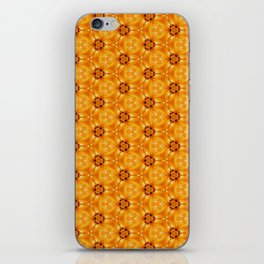 Yellow Autumn Leaves Close Up patterned iPhone Skin