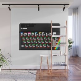 The Rainbow Computer Wall Mural