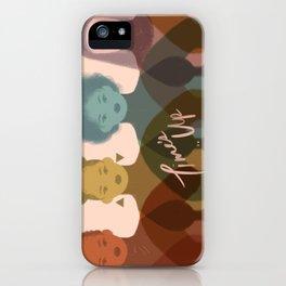 TIME'S UP by Sabrena Khadija iPhone Case