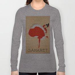 Vintage poster - Saharet Long Sleeve T-shirt