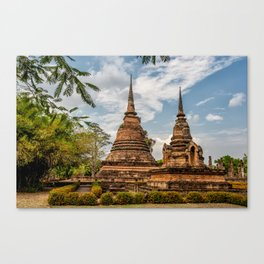 Buddhist Park Canvas Print