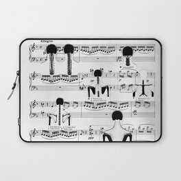 Spinal Chords from Wililam Tell Laptop Sleeve