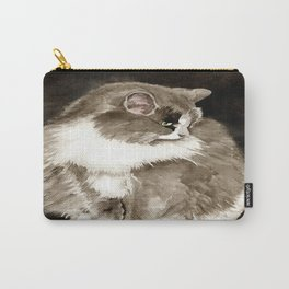 Winston the Cat Carry-All Pouch
