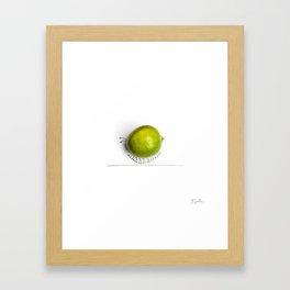 Catepillar Framed Art Print