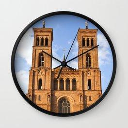 Sant Thomas Church in Berlin Wall Clock