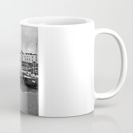 Tenby Harbour Boats.Pembrokeshire.B+W. Coffee Mug