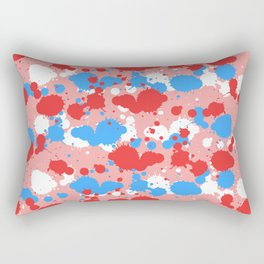 Colors Drops Rectangular Pillow