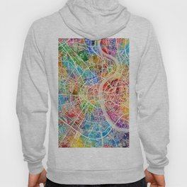 Cologne Germany City Map Hoody