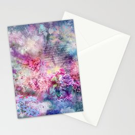 Composition in Pastel Stationery Cards