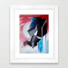 geosunset Framed Art Print
