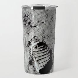 Apollo 11 - First Footprint On The Moon Travel Mug