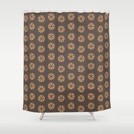 Wacky Hexies Shower Curtain