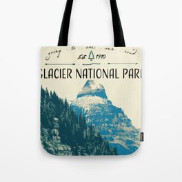 Glacier National Park - Going to the Sun Road Tote Bag