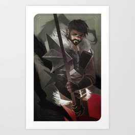 Here Lies the Abyss Art Print