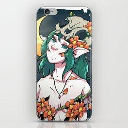 C - Moun iPhone Skin
