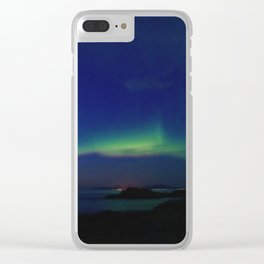 The Northern Lights 03 Clear iPhone Case