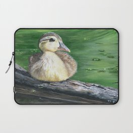 The Wood Duckling by Teresa Thompson Laptop Sleeve