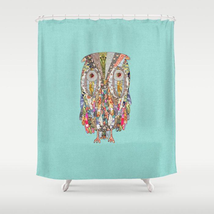 I CAN SEE IN THE DARK Shower Curtain