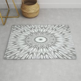 Gray Kaleidoscope Rug