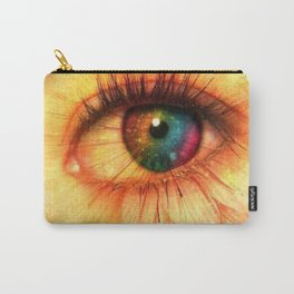 Eye Of Spring Carry-All Pouch