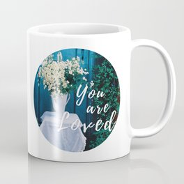 Spontaneity - chamomile bouquet - film photograpgy Coffee Mug