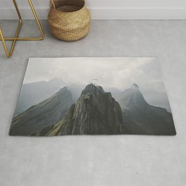 Flying Mountain Explorer - Landscape Photography Rug